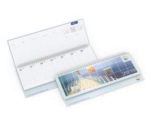 Tischquerkalender drucken lassen im PRESIT Werbeartikel Online-Shop
