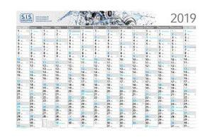 Große Wandkalender mit Jahreskalender im PRESIT Werbemittel Online-Shop bedrucken lassen