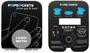 PopSocket Trägerkarte - schon ab 1.000 Stück individuell gestalten und bedrucken lassen