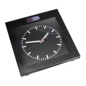 Werbeartikel Personenwaage mit Uhr REFLECTS-ALEKSIN