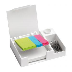Werbeartikel Schreibtischset REFLECTS-CHOLET WHITE