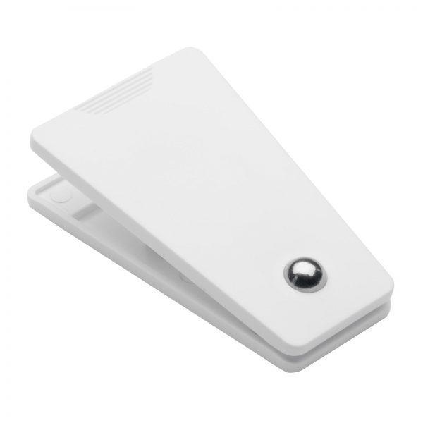 Werbeartikel Magnetclip REFLECTS-CLIC CLAC II WHITE
