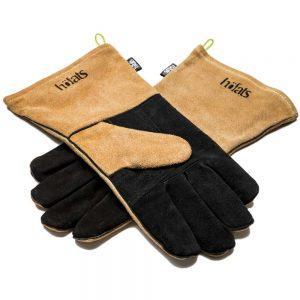 Grill-Handschuhe aus Leder & Kevlar als Werbeartikel im PRESIT Online-Shop bedrucken lassen