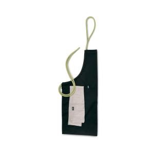 höfats Schürze in Schwarz – Hochwertige Grillschürze als Werbegeschenk bedrucken