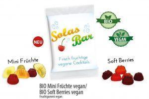 Werbeartikel Vegane BIO Mini Früchte