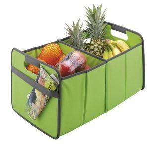 Faltbare Multibox – Farbe hellgrün – mit zwei Fächern – große Werbeflächen für Ihr Logo
