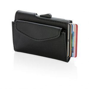 C-Secure RFID Kartenhalter mit Münzfach