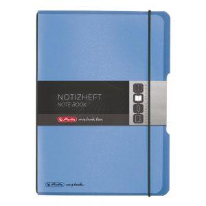herlitz my.book flex DIN A 5 PP Kunststoff blau/schwarz  als Werbeartikel mit Logo bedrucken im PRESIT Online-Shop