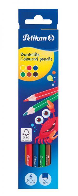Pelikan Buntstifte BS6LN sortiert  als Werbeartikel mit Logo bedrucken im PRESIT Online-Shop
