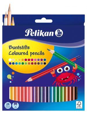Pelikan Buntstifte BS24LN sortiert  als Werbeartikel mit Logo bedrucken im PRESIT Online-Shop