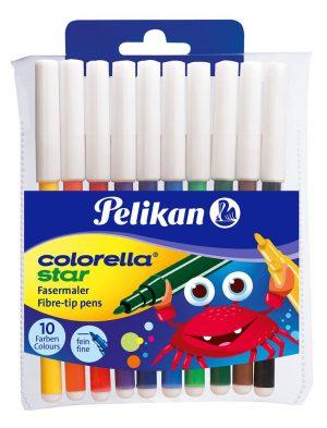 Pelikan Fasermaler Colorella star fein C 302 sortiert  als Werbeartikel mit Logo bedrucken im PRESIT Online-Shop