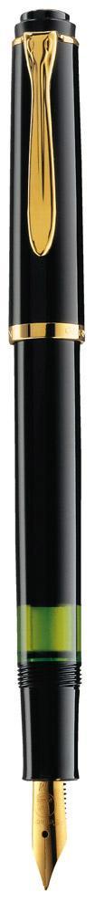 Pelikan Füllhalter Classic M 150 schwarz  als Werbeartikel mit Logo bedrucken im PRESIT Online-Shop