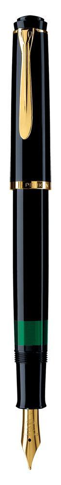 Pelikan Füllhalter Classic M 200 schwarz  als Werbeartikel mit Logo bedrucken im PRESIT Online-Shop