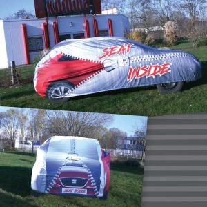 CarCover – Thermosublimationsdruck in brillanter Qualität