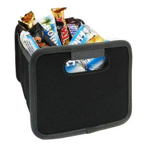 Faltbare Multibox, klein, schwarz – klein aber oho, tolle Ideen aus dem PRESIT-Shop