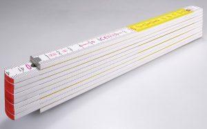 Holz-Gliedermaßstab Serie 700 – rote Zehnerzahlen für schnelle Orientierung