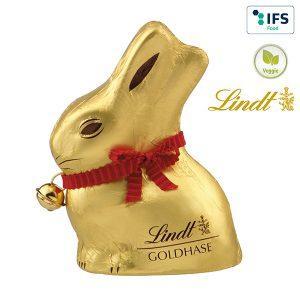 Lindt Schokolade mit Logo bedrucken lassen im PRESIT Online-Shop