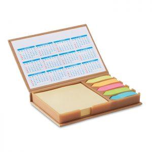 Notizzettelhalter mit Kalender MEMOCALENDAR - Notizhalter