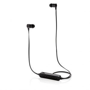 Wireless Ohrhörer mit leuchtendem Logo