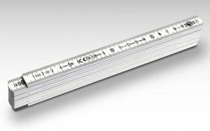 STABILA Kunststoff-Gliedermaßstab Serie 1100 – durch die sehr homogenen Seitenflächen eignet sich dieser Maßstab besonders für den anspruchsvollen Werbedruck