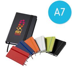 A7 Notizbücher als Werbeartikel bedrucken