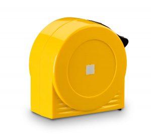 STABILA Taschenbandmaß BM 30 – zusätzliche Verstärkung des Bandanfangs mit einer Metallplatte