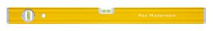 STABILA Wasserwaage Typ 80 A – Aluminium-Profil mit Verstärkungsrippen – hohe Stabilität, sicherer Griff.