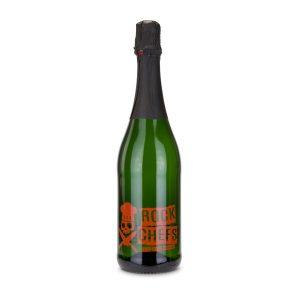 Sekt Cuvée – Flasche grün – Kapselfarbe rot