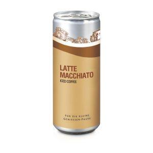 Promo Coffee – Latte Macchiato – Folien-Etikett