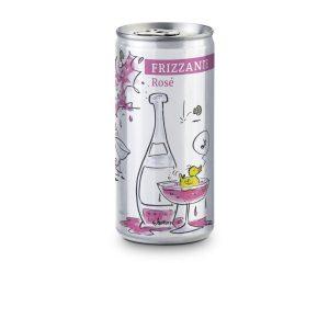 Frizzante Rosé – Folien-Etikett
