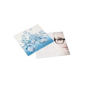 Brillenputztuch Mikrofaser – 20 x 20 cm als Werbeartikel mit Logo bedrucken im PRESIT Online-Shop