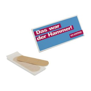 """Pflastermäppchen """"Pocket"""" – Standardpflaster als Werbeartikel mit Logo bedrucken im PRESIT Online-Shop"""