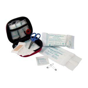 Detailansicht 1 – First Aid Kit blau als Werbeartikel mit Logo bedrucken im PRESIT Online-Shop