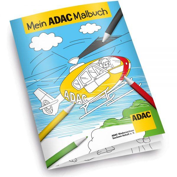 Individuelles Malbuch gestalten lassen - Beispiel ADAC