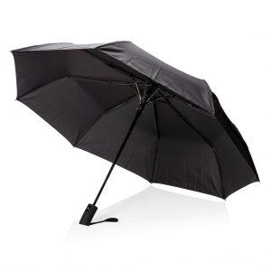 """Deluxe 21"""" faltbarer Schirm mit Automatiköffnung"""