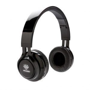 Graviertes Muster für Wireless Kopfhörer mit leuchtendem Log