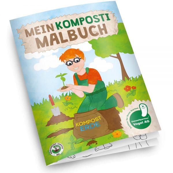 Individuelles Malbuch selbst gestalten - Beispiel Komposti