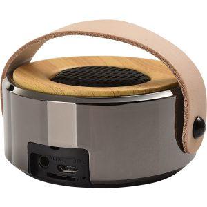 NORDIC Bluetooth Lautsprecher – mit Holz und Leder Applikationen