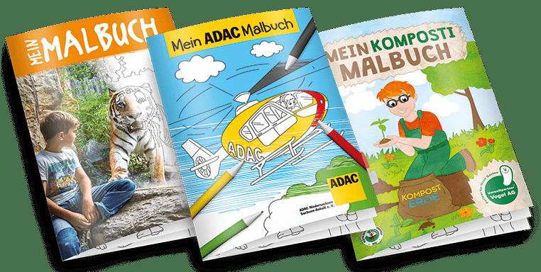 Malbuch selbst gestalten im PRESIT Werbeartikel Online-Shop