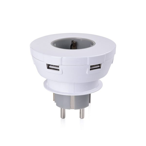 USB plug Grau