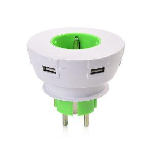 USB plug Grün