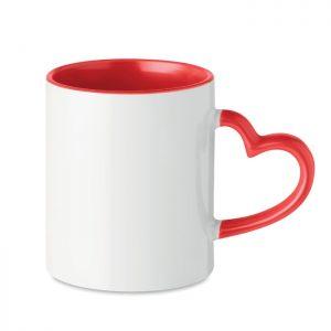 "Subli Keramiktasse ""Herz"" SUBLIM RED - Tassen"