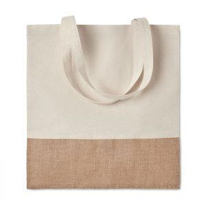 Einkaufstasche mit Jutebesatz INDIA TOTE - Einkaufstaschen