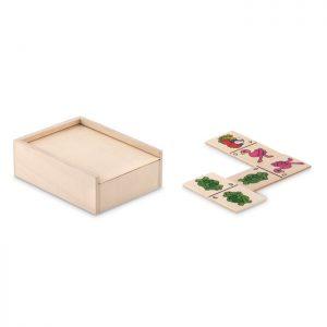 Domino Spiel für Kinder ANIMALS - Werbegeschenke für Kinder