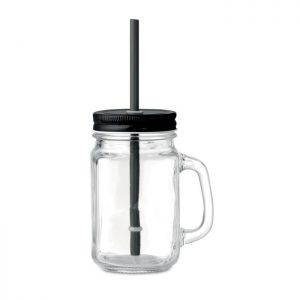 Trinkglas Mason Jar 450ml TROPICAL TWIST - Gläser