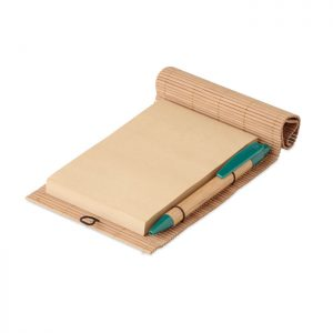 Bambus Schreib-Set CORTINA NOTE - Notizblöcke