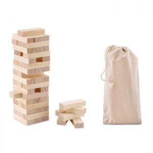 """""""Holzturm"""" Spiel PISA - Werbegeschenke für Kinder"""