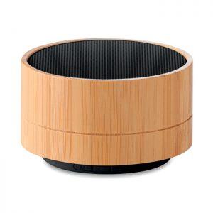 Runder BT Lautsprecher Bambus SOUND BAMBOO - Lautsprecher