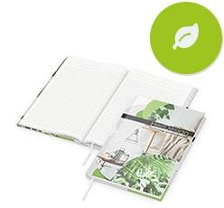 Öko Notizbücher als Werbeartikel bedrucken