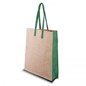 Jute Tasche Green sorgt für eine ökologische Ausstrahlung.